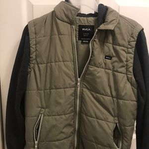 Boys RVCA jacket size large